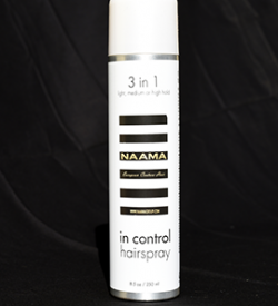 in control hair spray 3 in 1 hold